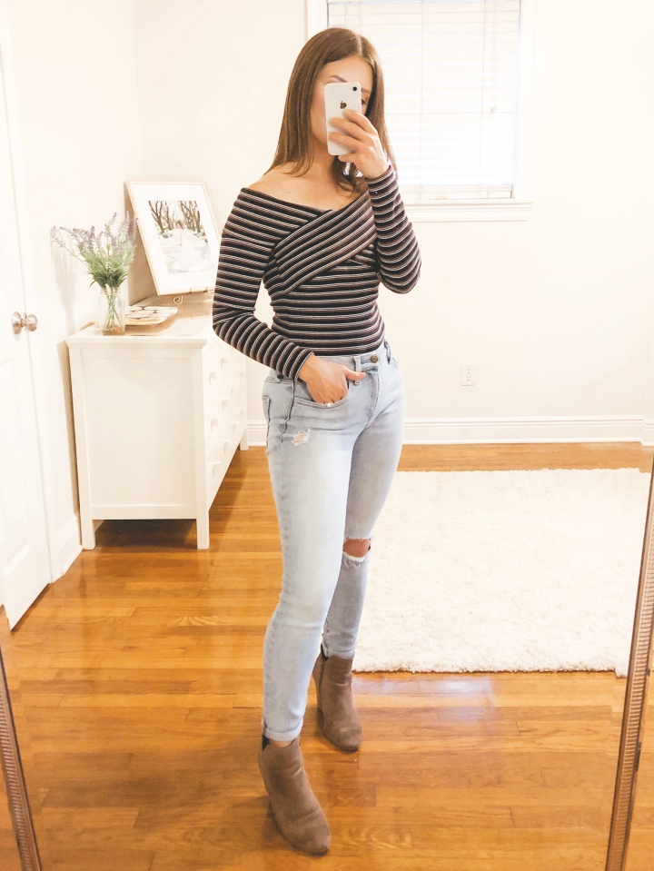 Off the Shoulder Tops for Fall
